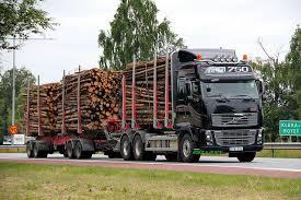 Timber truck lago 1